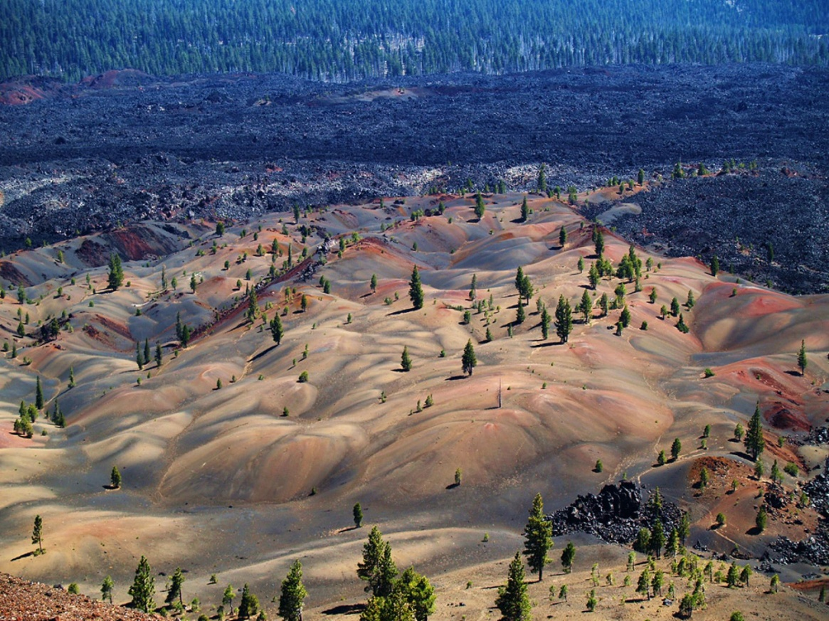 Image result for painted dunes lassen