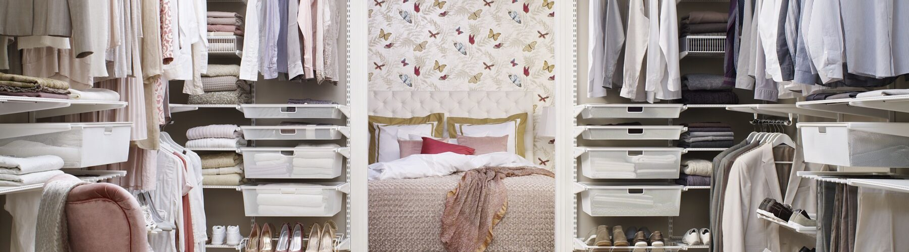 Create A Chic Dressing Room, No Matter the Space Restrictions