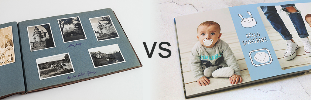 The Differences Between Photobooks and Photo Albums